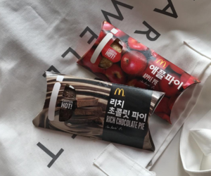 fast food, korean, and mcdonald image