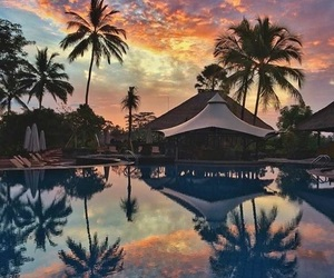 bali, travel, and voyage image