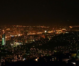 cory, lights, and night image