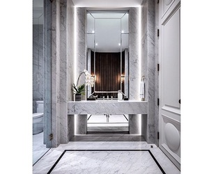 bathroom, home, and living room image