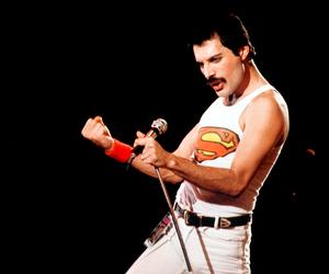 Freddie Mercury, singer, and handsome image