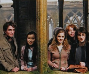 harry potter, daniel radcliffe, and emma watson image
