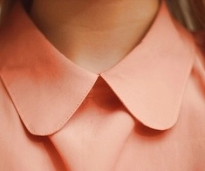 fashion, pink, and collar image