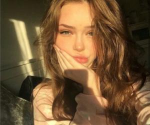 girl, beautiful, and beauty image