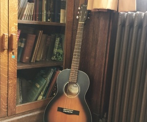 books, classical, and guitar image
