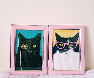 art, glasses, and picture image