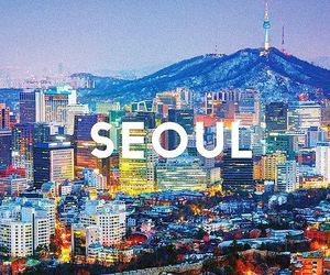 seoul, korea, and city image
