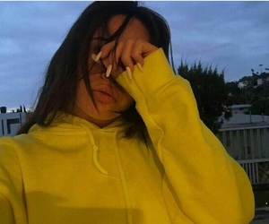 girl, yellow, and bea miller image