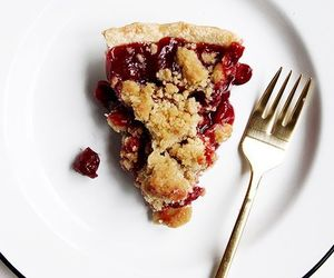 pie, crust, and food image