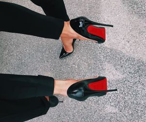 shoes, bff, and louboutin image