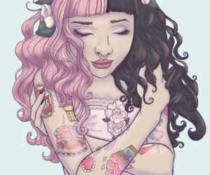 melanie martinez, drawing, and tattoo image