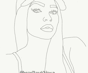 outlines, tumblr, and kyliejenner image