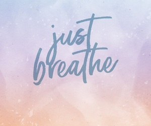 breath, phone, and wallpaper image