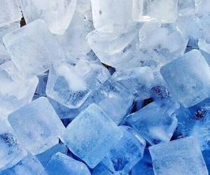 ice, blue, and wallpaper image