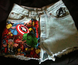 Avengers, love, and fashion image
