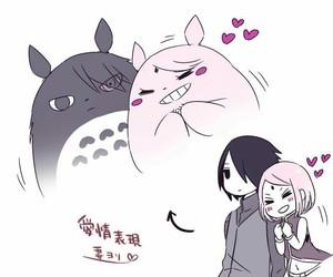 sasusaku, anime, and girl image