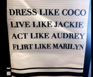 act, audrey, and chanel image