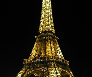 awesome, eiffel tower, and lights image