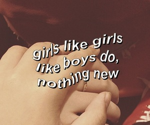 gay, girls, and lesbian image