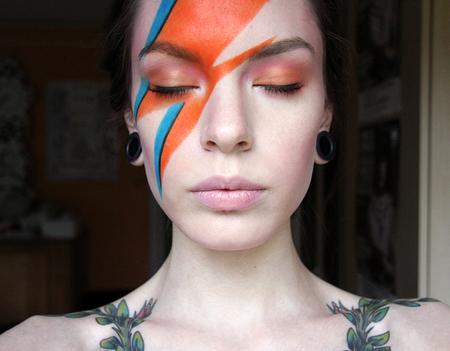Ziggy Stardust Makeup Saubhaya