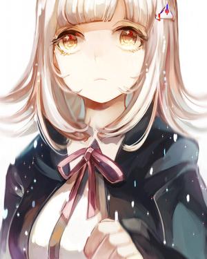 anime, anime girl, and super danganronpa 2 image