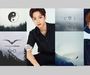 header, jinyoung, and minhyun image