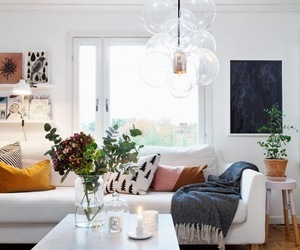 home decor, living room, and scandanavian image