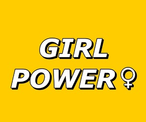 girl, power, and love image