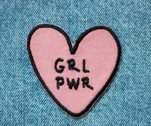 girl power, feminism, and pink image