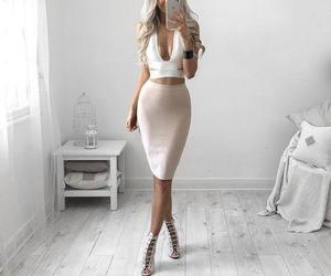 dress, dresses, and style image