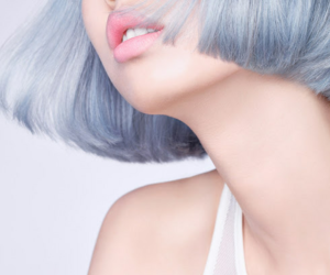 female, girl, and short hair image