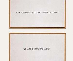 quotes, stranger, and sad image