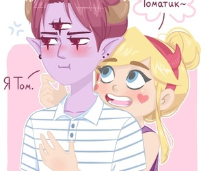 svtfoe, star butterfly, and tomstar image