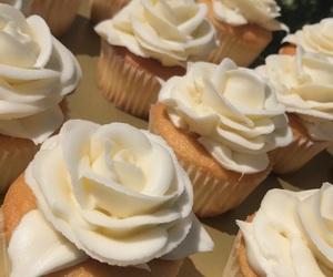 birthday, cake, and cupcakes image
