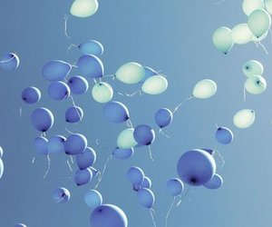blue and ballons image