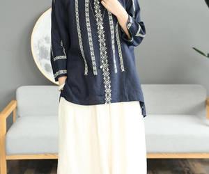 etsy, cotton shirt, and linen shirt image