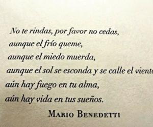 mario benedetti, frases, and Dream image