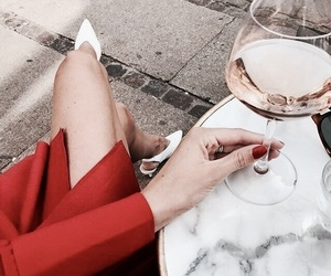 drink, fashion, and red image