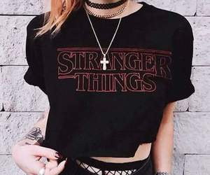 stranger things, style, and grunge image