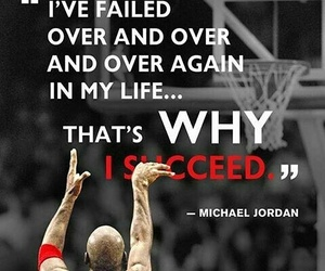 quotes, life, and michael jordan image
