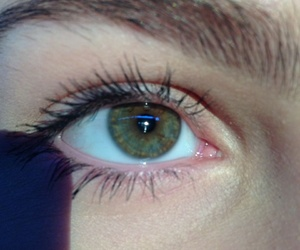 alternative, eyes, and green image