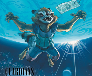 Marvel, Nevermind, and rocket raccoon image