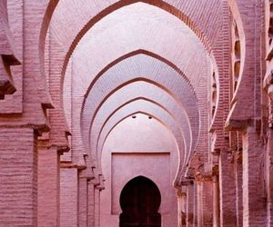pink, architecture, and travel image