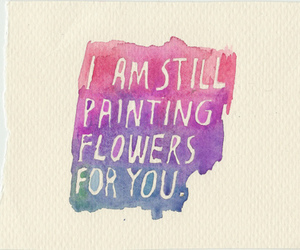 all time low, flowers, and quote image