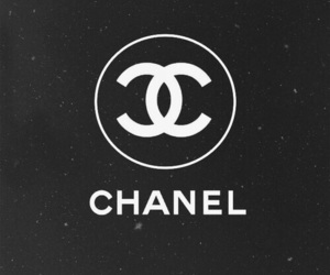 chanel, background, and black image