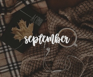 autumn, September, and tumblr image