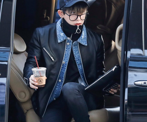 airport, outfit, and shin image