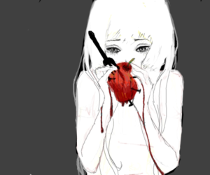 anime, art, and heart image