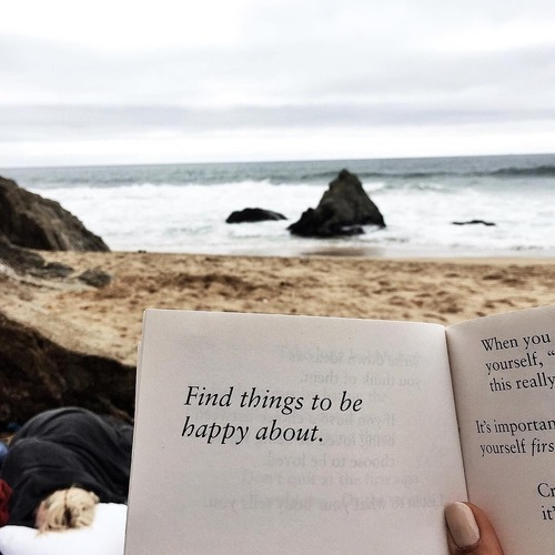 quotes, beach, and book image