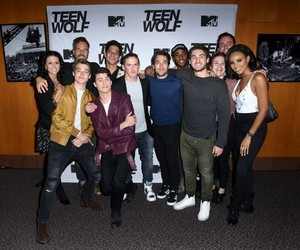 teen wolf, jeff davis, and ryan kelley image